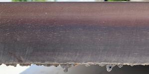 2.25 inch thick stainless plasma edge